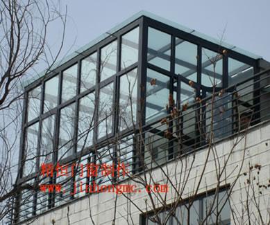 玻璃屋设计制作图